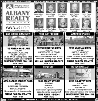 Bringing Families Homes since 1959, Albany Realty Company, Albany, GA