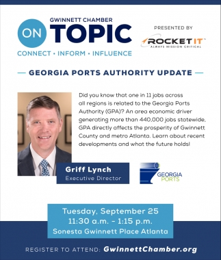 Georgia Ports Authority Udate
