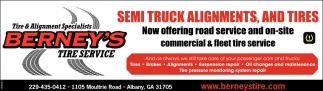 Semi Truck Alignments, And Tires
