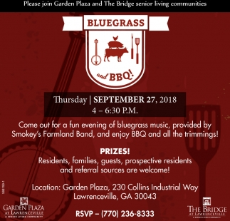Bluegrass and BBQ!