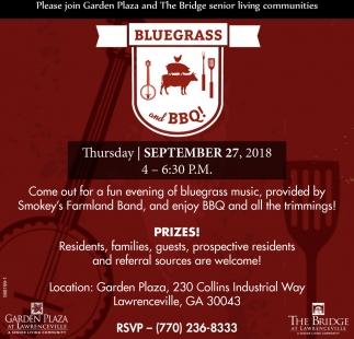 Bluegrass and BBQ!