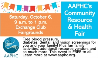AAPHC's Community Resource & Health Fair