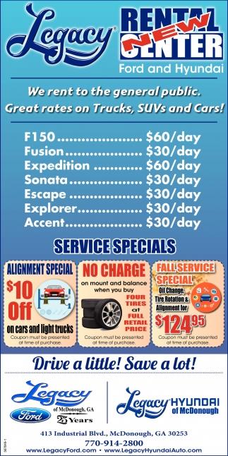 Services Specials