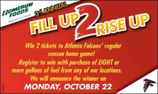 3rd Annual Fill Up 2 Rise Up