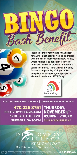 Bingo Bash Benefit