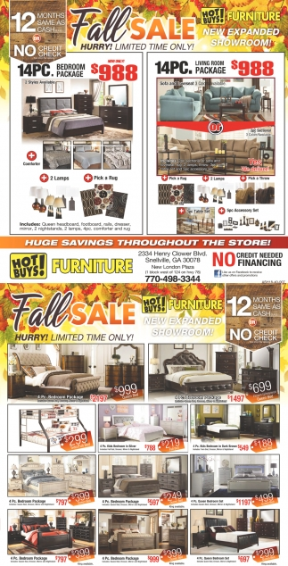 Fall sale hot buys furniture snellville ga