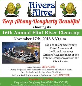Annual Flint River Clean-Up