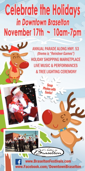 Celebrate the Holidays in Downtown Braselton