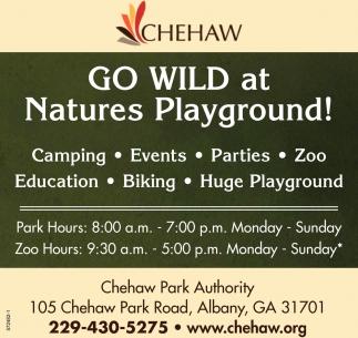 Go Wild at Natures Playground