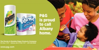 P&G is Proud to Call Albany Home