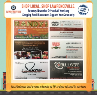 Shop Local. Shop Lawrenceville