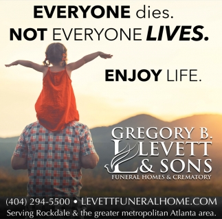 Everyone Dies. Not Everyone Lives.
