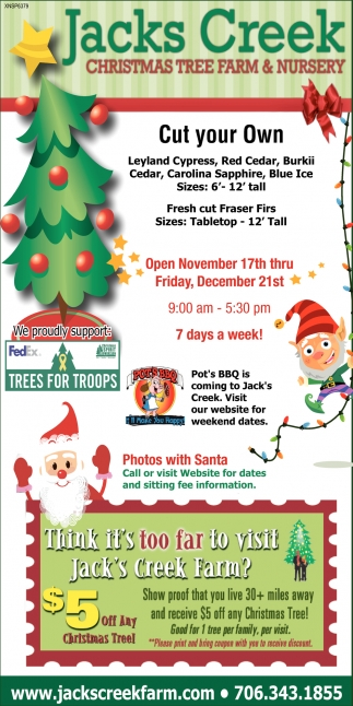 Christmas Tree Farm & Nursery