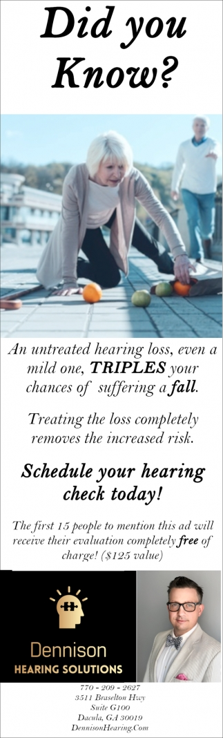 Schedule your Hearing Check Today!