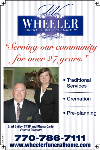 Serving Our Community for over 27 years