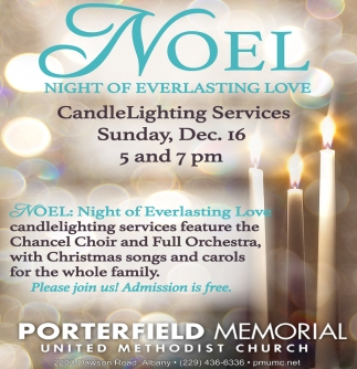 Noel Night of Everlasting love