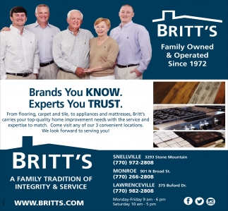 Brands You Know. Experts you trust