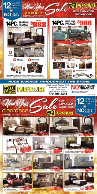 New year sale clearance hot buys furniture snellville ga