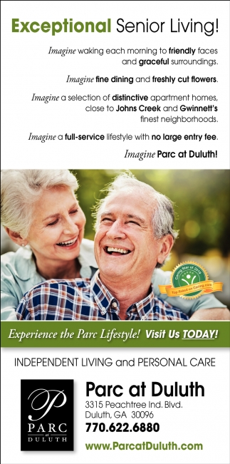 Exceptional Senior Living!