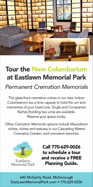 Tour the New Columbarium