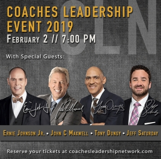 Coaches Leadership Event