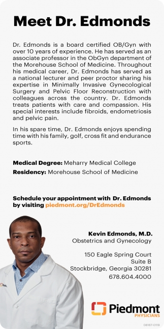 Meet Dr. Edmonds