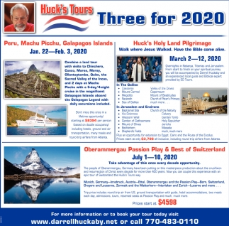 Three for 2020