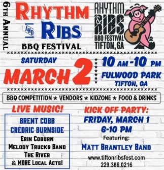 Rhythm and Ribs BBQ Festival