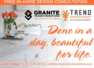 Free In Home Design Consultation Trend Transformations