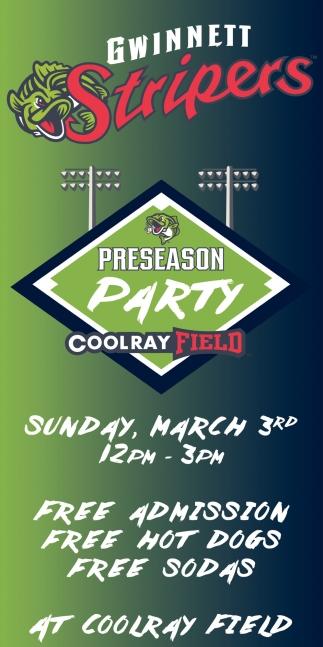 Preseason Party