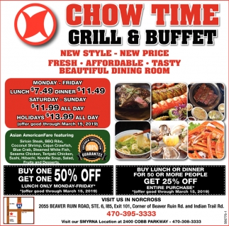 Remarkable Grand Opening Chow Time Grill Buffet Norcross Ga Beutiful Home Inspiration Xortanetmahrainfo