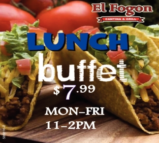 Lunch Buffet $7.99
