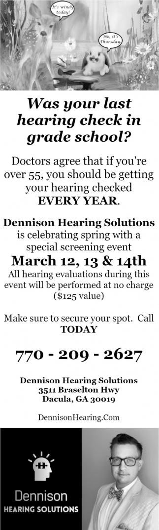 Free Complete Hearing Evaluation