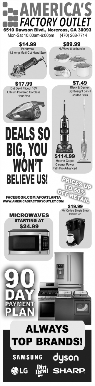 Deals so Big, You Won't Believe Us!