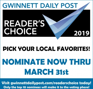 Reader's Choice 2019