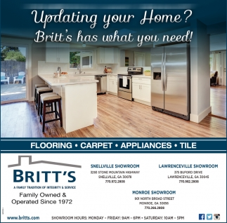 Britt's Has what You Need!