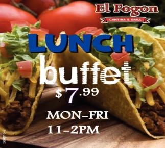 Lunch Buffet $7.99