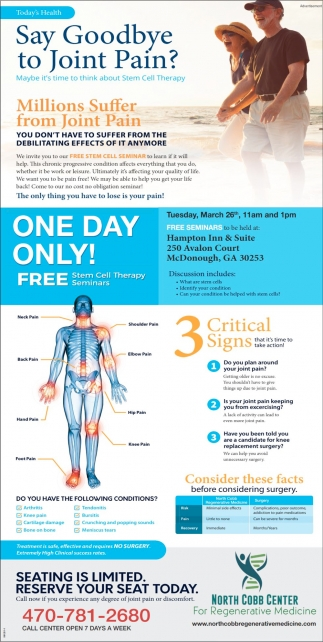 Free Stem Cell Seminars