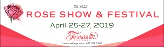 Rose Show Festival