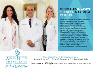 Minimimally-Invasive Surgery. Maximum Results