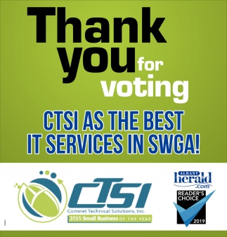 CTSI As the Best IT Services in SWGA!