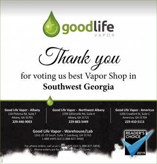 Voting Us Best Vapor Shop
