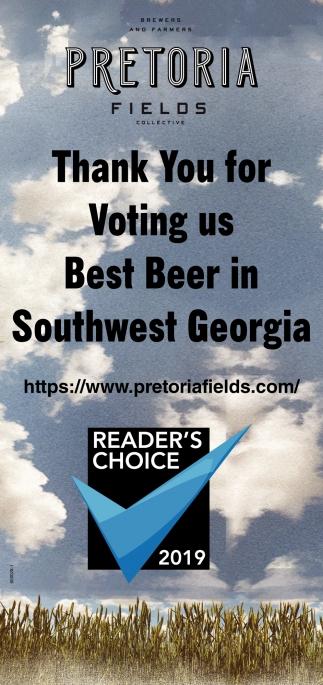 Best Beer in Southwest Georgia