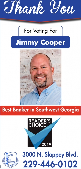 Best Banker in Southwest Georgia