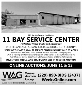 11 Bay Service Center