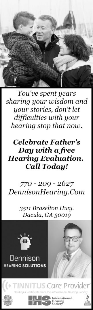 Celebrate Father's Day with a Free Hearing Evaluation