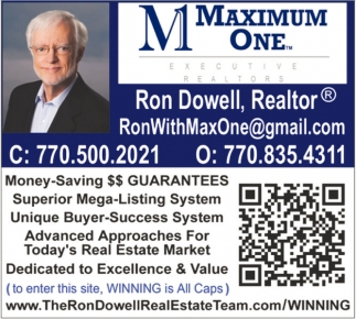 Ron Dowell, Realtor