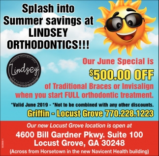 Splash into Summer Savings at Lindsey Orthodontics