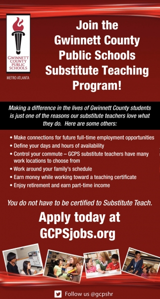 Public Schools Substitute Teaching Program