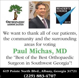Paul Michas, MD